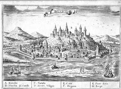 Panorama Beograda sredinom 16. veka