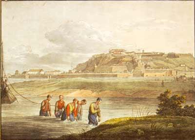 Panorama Beograda u prvoj polovini 19. veka